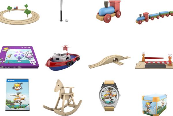 Speelgoedwinkel 3D Modellen