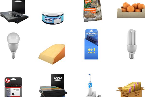 Supermarkt 3D Modellen