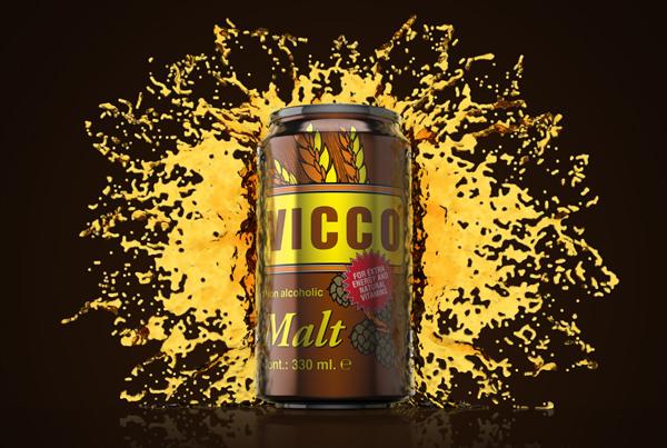 Vicco Beer Product Visualisatie